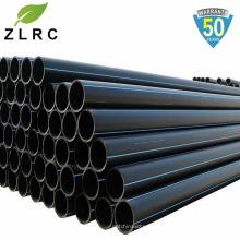 Tuyau de polyéthylène PE100 PEPE tuyau PN10 PN 16 liste de prix noir HDPE tuyaux en plastique de l'eau