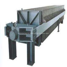 Cilindro hidráulico para filtro prensa de membrana de cámara