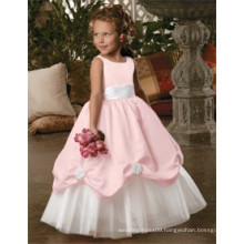Two Color Flower Girl Dress with Low Price lace or flower girl dress patterns baby flower girl dress hot sex photos