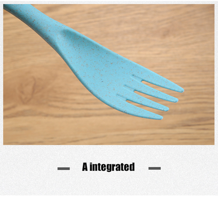 Spoon Fork Knife Set Plastic Cutlery