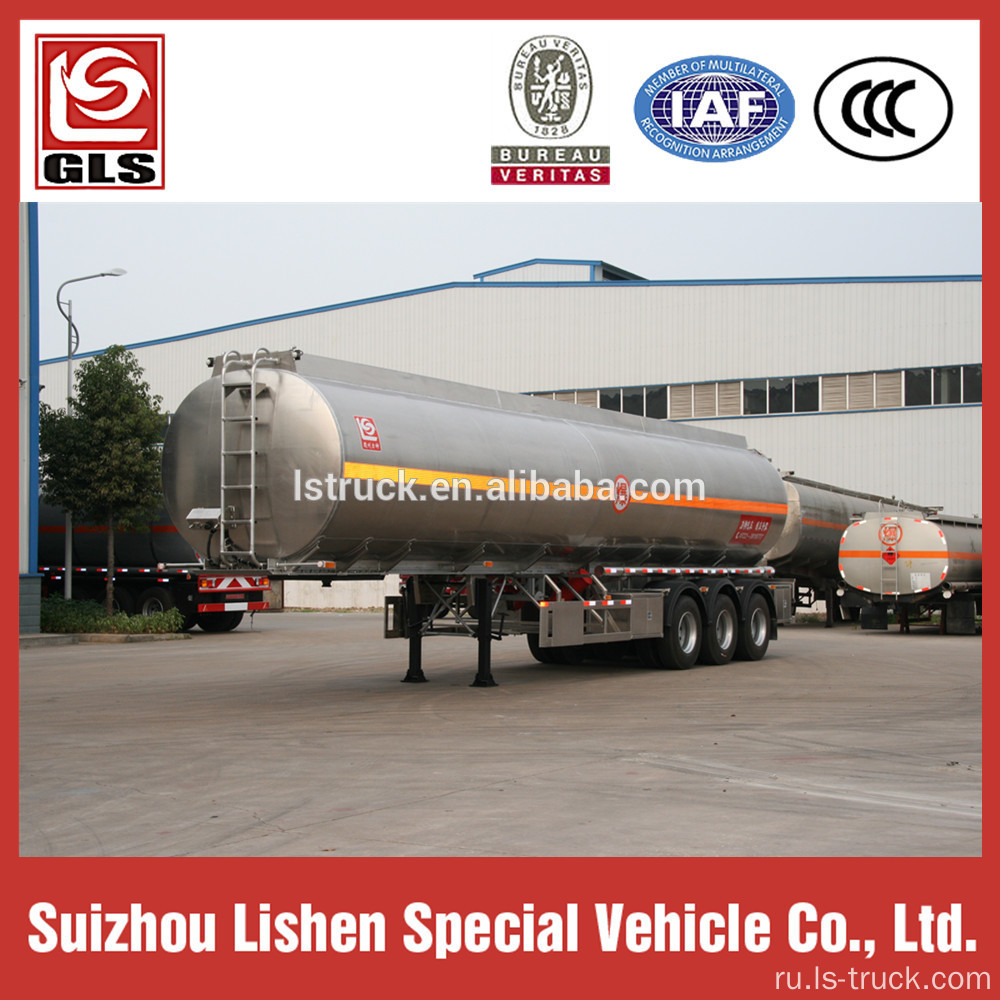 Heptane Chemical Liquid Semi Trailer