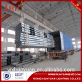 Q235 galvanized steel octagonal electric pole
