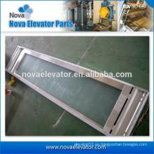 Panel de suspensión de puerta de ascensor
