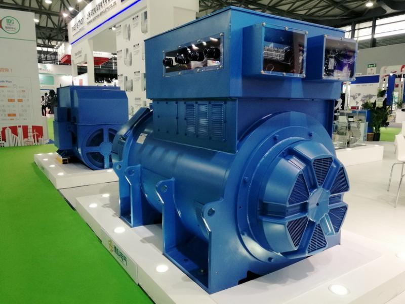 High Voltage Industrial Alternator