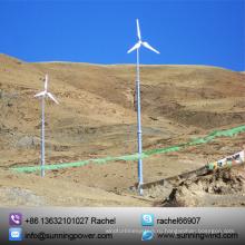 CE одобряет 5000ВТ ветровой системы генерирования электропитания 380В в Великобритании
