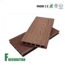Wood Grain Timber Deck Building Material WPC Wooden Flooring
