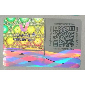Customized Adhesive Hologram Sticker with Background of Authentic