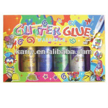OEM 120ml glitter glue /DIY painting set /gift