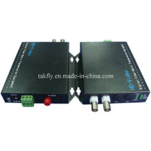 High Quality 2 CH 1080P Resolution Ahd&Cvi&Tvi Video Fiber Transmission