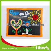 Demande de prix pour le tableau noir extérieur bon marché pour l'école, tableau amovible, tableau chinois PD088