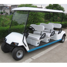 6 seater sightseeing car with gasoline or electric power.