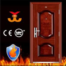 60mins fogo avaliado aço portas de entrada do apartamento