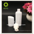 100ml best selling white colored empty cosmetic plastic pump lotion bottle