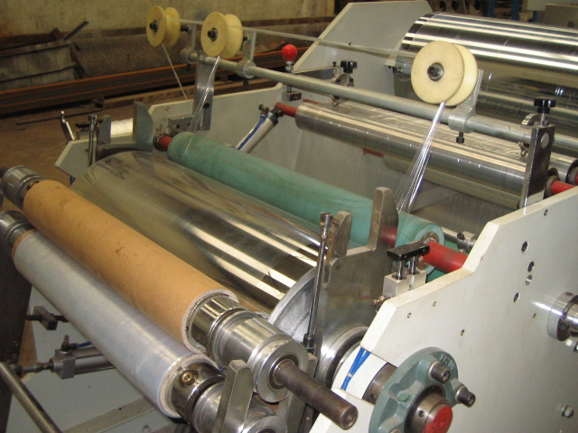 Double Layer Stretch Film Making Machine