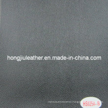 Normal Used Litchi Pattern Leather for Car (Hongjiu-HS025#)