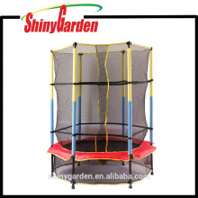 Kid Bungee Trampoline With Net With Safety Enclosure