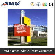 Alusign professional manufacyurer pvdf coating machine