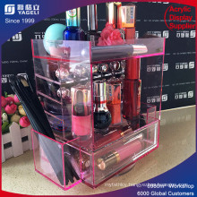 High Quality Fashion Pink Acrylic Lipstick Holder