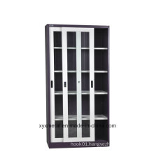 Customized Kitchen Wall Cabinets with Glass Sliding Doors