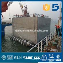 Pontón de salvamento marítimo de goma de Shunhang hecho en China