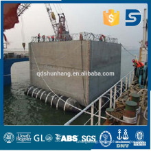 Shunhang rubber marine salvage pontoon made in China