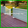 Deluxe Grey / White Striped Outdoor Privacy Screen Net Sun Wind Shield for Deck, Balcony, Fence, Pool or Patio.