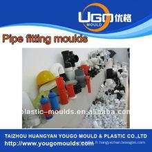 Fournisseur de moules en plastique pour le moule en plastique de taille standard en taizhou Chine