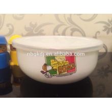enamel ice bow popular by child & enamel coating bowl