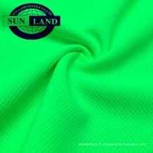 EN20471 vêtements haute visibilité jaune fluorescent protection UV birdeye tissu maille