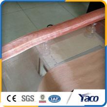 Malla de alambre de bronce fosforado, Malla de alambre de cobre, tela metálica de bronce fosforado