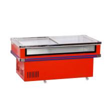 Один холодильный компрессор охлажденный и замороженный перед мороженым