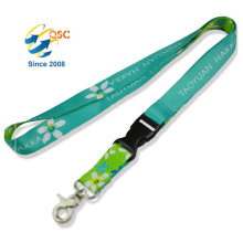 Customized Designs Logo Promotion Heat Transfer Printing Lanyard