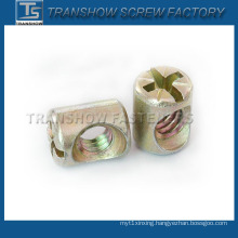 Zinc Alloy Furniture Barrel Nut