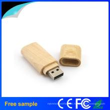Clássica de alta velocidade Retângulo madeira USB Flash Drive