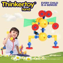 Preschoold Toy plástico educativo 3D para crianças
