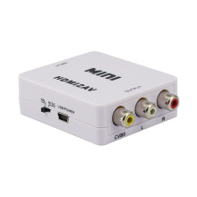 Mini HDMI to AV converter