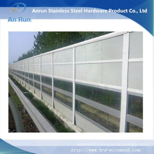 Aluminum Highway/Railway Sound Proof Acoustic Barrier Made in Factory