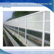 Alumínio Rodoviária / Ferroviária Sound Proof Acoustic Barrier Made in Factory