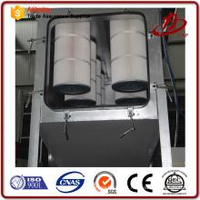 Aplicação da indústria de Deduster do cilindro do filtro na planta de vidro