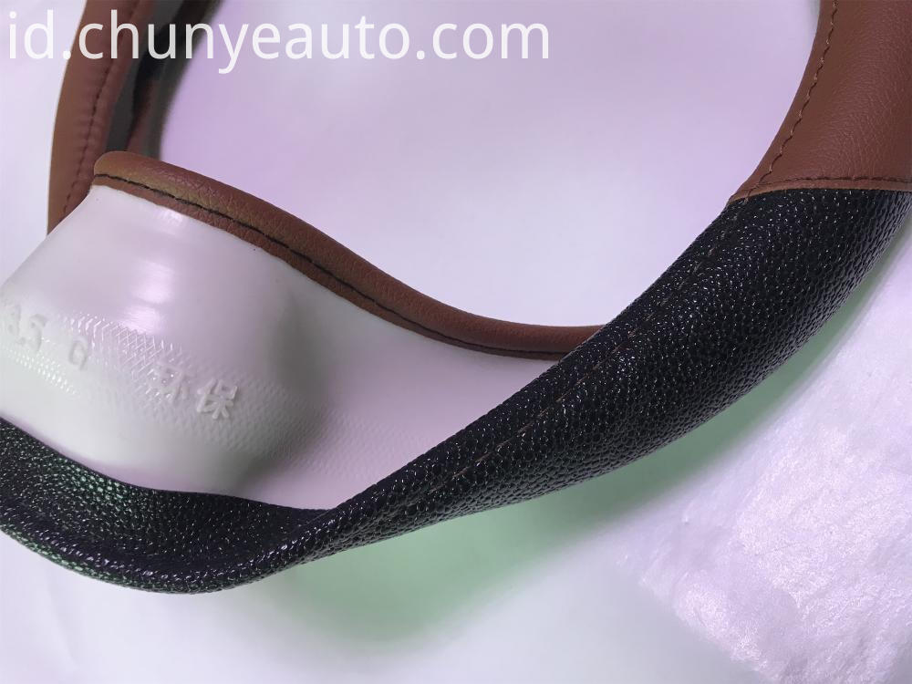 ECO-friendly steering wheel cover
