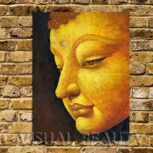 Arte de alta qualidade da pintura de Buddha na lona