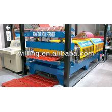 Machine de toiture usée avec couvercle de sécurité solide