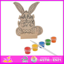2014 New Play Painting Toy Kids Toy, Cheap DIY Wooden Toy Children Painting Toy, Educational Toy Wooden Painting Baby Toy W03A054