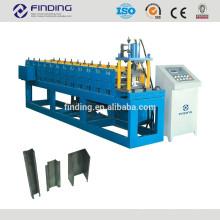 Pfette Walzprofilieren Maschine Pfette machen Maschine leichte Stahlrahmen Walzmaschine