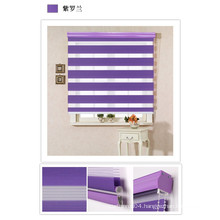 color different double layer zebra blind, zebra roller blind