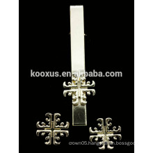 ISIS CROSS TIE CLIP PIN AND BROOCH