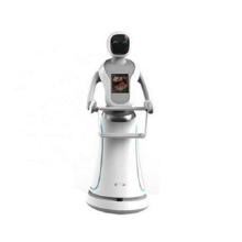 Automatic Meal Delivery Robot Waiter In de voedingsmiddelenindustrie