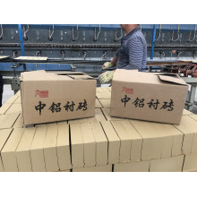 Medium high aluminum lining brick