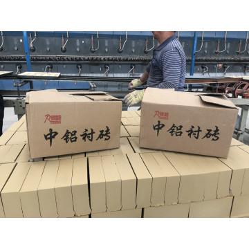 Brique de revêtement en aluminium de hauteur moyenne