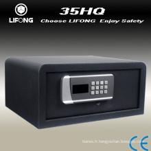 2014 New design safe dans la Chambre hôtel numérique, coffre-fort, coffre-fort pour ordinateur portable